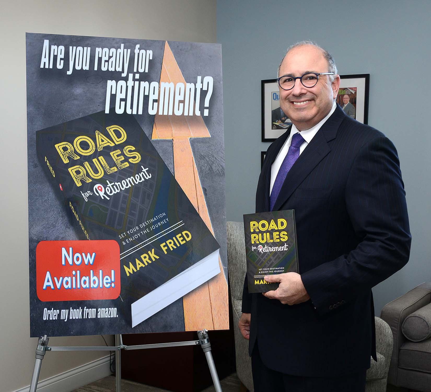 Mark Fried's Book Road Rules for Retirement